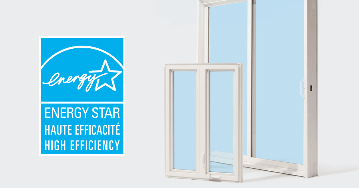Fen tres et portes fen tres certifi es energy star for Fenetre energy star quebec