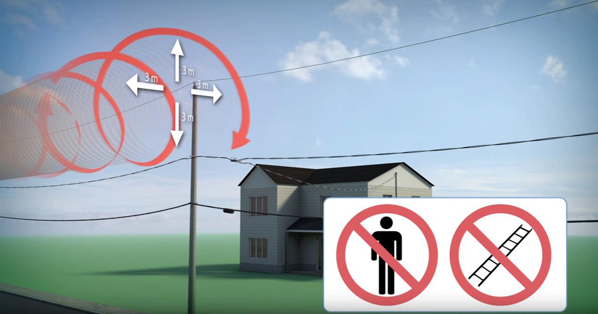 Dangerous Activities Near Power Lines