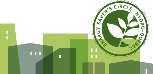 Energy Savers' Circle header banner.