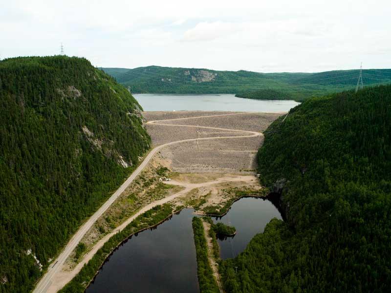 Retaining Structures Dams Hydropower Hydro Quebec