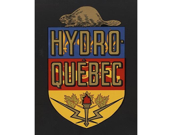 1944 logo hydro quebec LM Le Québec