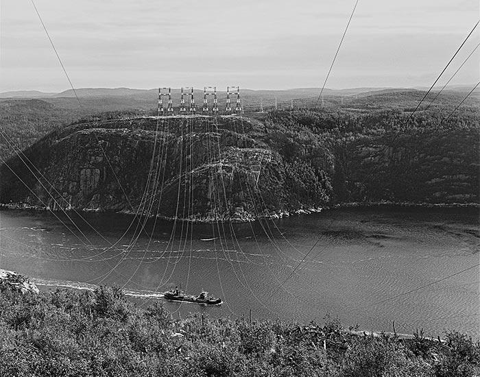 1953 ligne transport 315kv LM Le Québec