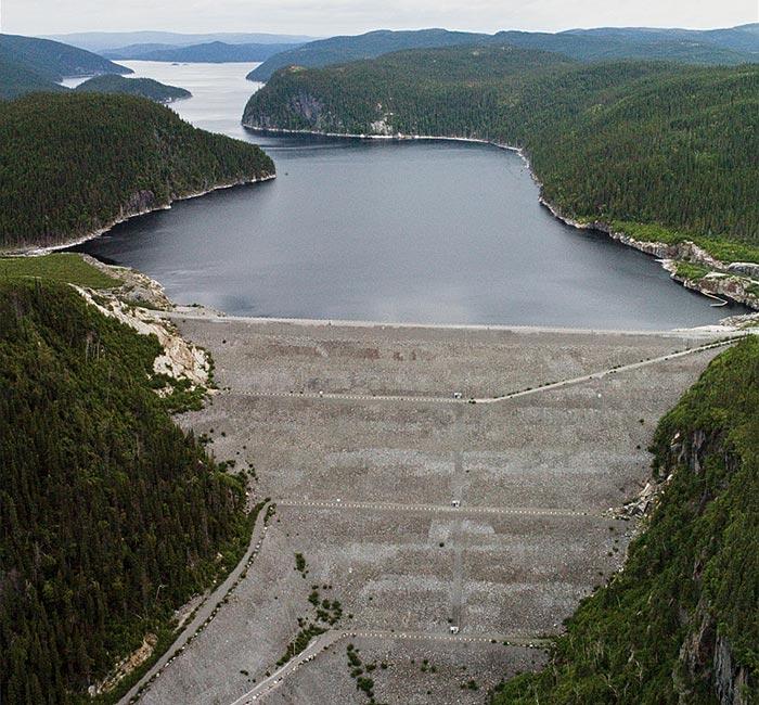 1994 barrage sainte marguerite 3 LM Le Québec