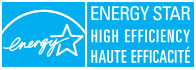 Energy Star®, high efficiency.