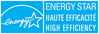 ENERGY STAR<sup>®</sup>, haute efficacité.