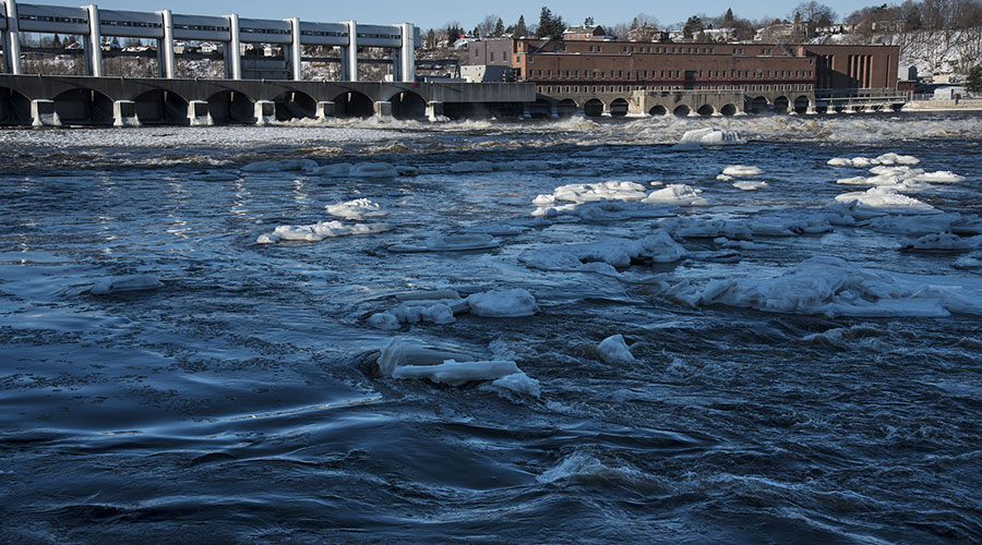 Run-of-river generating stations have a neutral impact on flood levels.