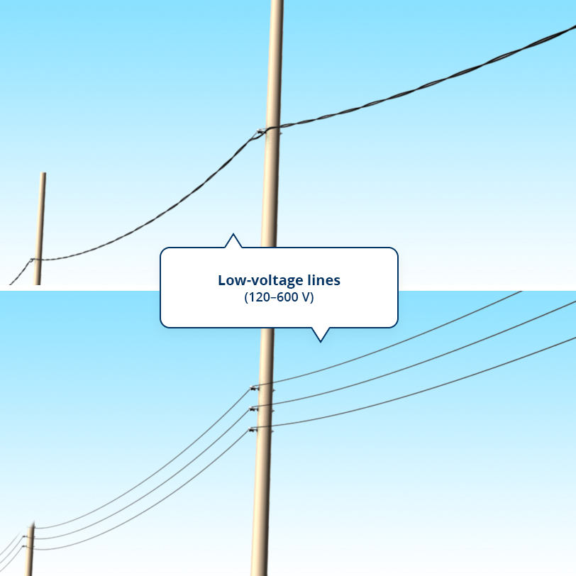 Watch out for power lines | Hydro-Québec on